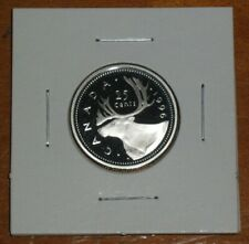 Canada 1996 Proof Quarter 25 Cents Sterling Silver Twenty-Five Cent Coin