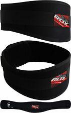 RDX Gimnasio Cinturón Cuero Musculacion Gym Belts Lumbar Fitness Entrenamiento