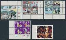 Barbuda Nr. 352-371 **/mnh, Viererblocksatz Jahresereignisse 1977 (23585)