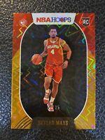 2020-21 Panini NBA Hoops Orange Explosion /25 Skylar Mays RC rookie SSP Hawks 🔥