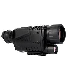 5x40 Zoom Monocular Digital Alcance de Detección Night Vision Telescope Vídeo IR
