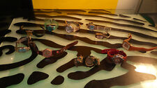 Timex Roots Cardinal Anne Klein Seiko Watches Lot of 10 Good Cond Untested