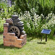 Smart Garden Solar Heywood Mill Fountain Water Feature