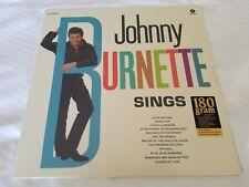 JOHNNY BURNETTE - Sings NEW/SEALED 180 Gram Reissue (LP) 1960-61 Rock n Roll