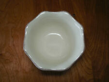 """Better Homes & Gardens HARVEST CREAM Set of 3 Soup Cereal Bowls 6"""""""