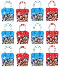 12PCS Disney Mickey and Friends Goodie Party Favor Gift Birthday Loot Bags new
