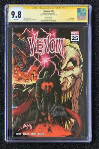 CGC SS 9.8 SS Stegman Venom # 25 Variant 2nd Print Virus Codex Wraparound Cover