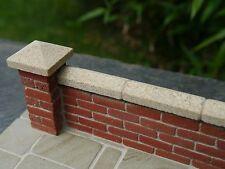 20 12mm York Sandstone Miniature Single Wall Copings