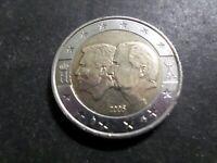 BELGIQUE PIECE de 2 EURO 2005 COMMEMORATIVE BE/LUXEMBOURG, TTB, VF COIN
