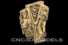 3D Model STL models  for CNC Router 3D Printer Artcam Aspire Cut3d.n730