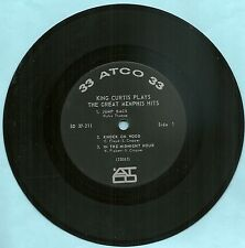 """KING CURTIS, Plays The Great Memphis Hits, ORIGINAL 7"""" STEREO 33rpm 6 song EP"""