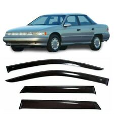 For Mercury Sable 1992-1995 Side Window Visors Sun Rain Guard Vent Deflectors