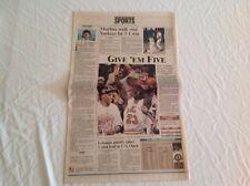 Vintage Sun-Sentinel Sports June 14th, 97' NBA Michael Jordan Newspaper
