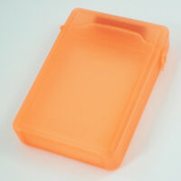 3.5 Inch Orange IDE/SATA HDD Hard Disk Drive Protection Storage Box Case TS