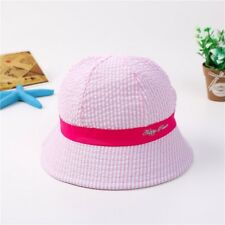593bec4c0c2 Boys Girls Dot Bucket Hat Wide Brim Hats Kids Baby Cotton Outdoor Beach Sun  Caps