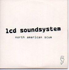 (N529) Lcd Soundsystem, North American Scum - DJ CD