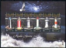 Ukraine 2009 Lighthouses/Maritime Safety/Buildings/Architecture 6v m/s (n28723)