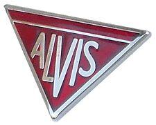 Alvis logo lapel pin
