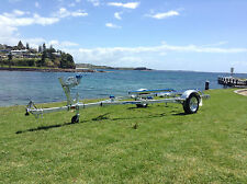 SeaTrail AL4.6M13, Fully Galvanised Boat Trailer (suits Boats/Tinnys up to 4.7m)