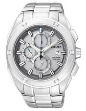 CITIZEN Eco-Drive Titanium CA0210-51A Solar Mens Watch Chronograph RRP $799.00
