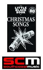 LITTLE BLACK SONG BOOK OF CHRISTMAS SONGS NEW CHORDS LYRICS SONGBOOK XMAS SONGS