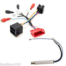 PC9-410 AUDI A3 1994 - 2004 FULLY AMPED RCA TO ISO HARNESS ADAPTOR & PC5-90