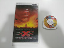 XXX 2 ESTADO DE EMERGENCIA PSP ESPAÑOL ENGLISH UMD VIDEO