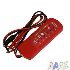 12v Volt Battery Alternator Test Tester Car Van Motorbike with LED Indicators