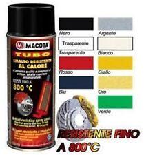 MACOTA Alte Temperature Vernice Spray Pinze Freno Marmitte Tuning Tubo Giallo