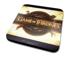 2 x Game of Thrones Coasters, Individually Factory Sealed, New