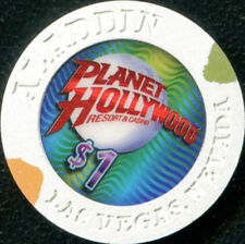 $1 Las Vegas Aladdin Resort Planet Hollywood Casino Chip - UNCIRCULATED