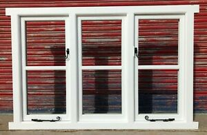 Wooden Timber Casement Windows! Cottage style! Made to measure! Bespoke!