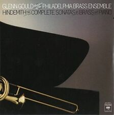 GLENN GOULD-HINDEMITH: SONATAS FOR BRASS AND PIANO -JAPAN CD C94
