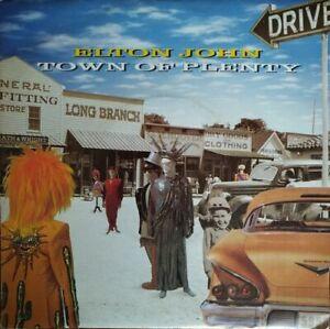 "Elton John - Town of Plenty - Vinyl 7"" 45T (Single)"