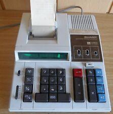 Rechenmaschine Sharp CS-2166A 12-stelliger druckender Tischrechner mit Display