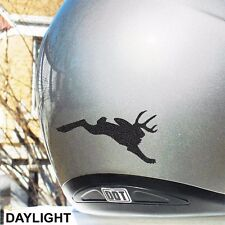 Jackalope Reflective Decal Bike, Motorcycle, and Helmet #470R