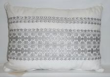 Pottery Barn Kids Cassandra Embroidered Decorative Baby Nursery Pillow, New