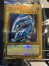 "Yu-Gi-Oh Card ""Blue-Eyes White Dragon"" (LGB1-KRS02) Premium Gold Rare / Korean"