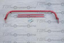 "47""-52.5"" Universal Seatbelt/Seat Belt Harness Bar RED"