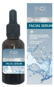 Face Facts Hyaluronic Facial Serum 30ml - New & Boxed