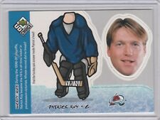 1998 Upper Deck UD Choice Mini Bobbing Heads BH21 Patrick Roy Colorado Avalanche