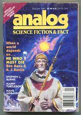 ANALOG Science Fiction Magazine 1992 12 Issue Lot