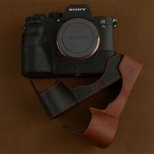 Camera Half Case For Sony A7S3 A7SM3 Retro Cover Genuine Leather Handmade Insert