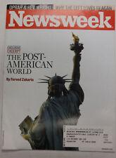 Newsweek Magazine The Post American World May 2008 052615R2