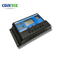 20A 20 amp PWM LCD USB SOLAR CHARGE CONTROLLER MOTORHOME CAMPER t4 t5 bongo