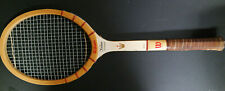 Vintage Wilson Jack Kramer Autograph Wood Tennis Racquet Racket Grip Med 4 5/8