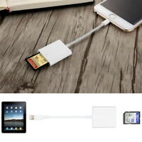 Lightning to SD Card Camera Reader Adapter for iPhone 8 8plus X XS iPad Air Mini