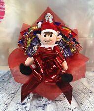 Cheeky Elf Christmas Chocolate Bouquet - Christmas Gift - Stocking Filler