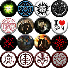SUPERNATURAL - Badges Buttons Pins (1.5 inch - 38 mm) - 16 pieces