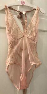 Victoria's Secret  Bluebella Unlined Angelie sheer teddy Size L NWOT